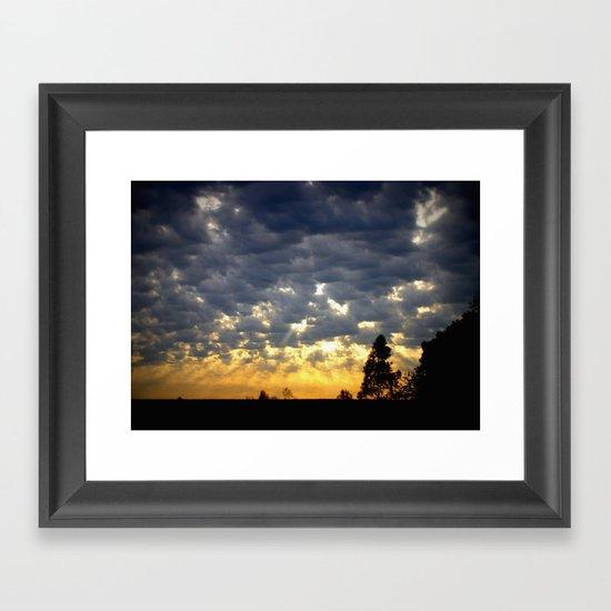 Morning is Breaking! Framed Art Print