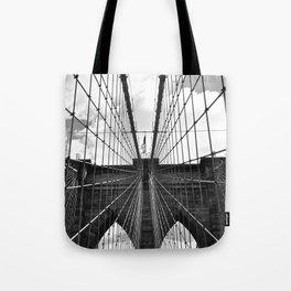 Brooklyn Bridge Old School Tote Bag