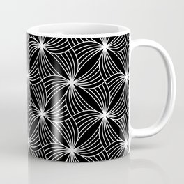 BLACK STORM, BLACK AND WHITE Coffee Mug
