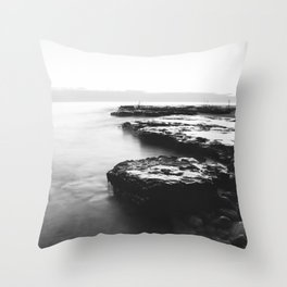 Water Moss Throw Pillow