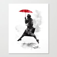 The pudle jumper Canvas Print