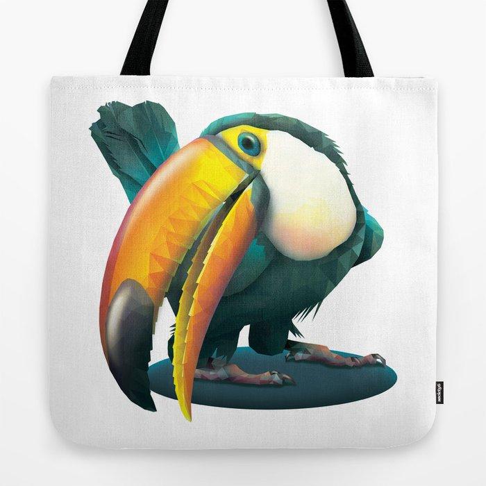 Emerald Toucan Tote Bag