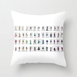 Fashion Rainbow Throw Pillow
