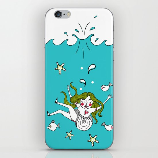 Dive In! iPhone & iPod Skin