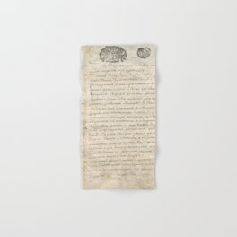 French Contract 1697 Hand & Bath Towel