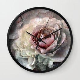 Vintage roses(7). Wall Clock