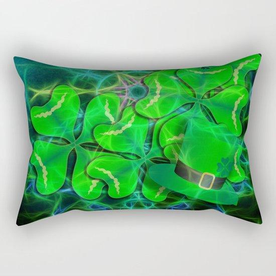 clover and kaleidoscope Rectangular Pillow
