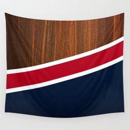 Wooden New England Wall Tapestry