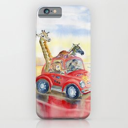 Go To The Beach iPhone Case