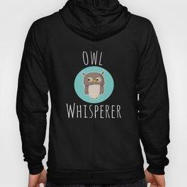 Top Fun Owl Whisperer Design Hoody
