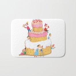 Yummy Cookie Wedding Cake Bath Mat