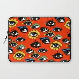 60s Eye Pattern Laptop Sleeve