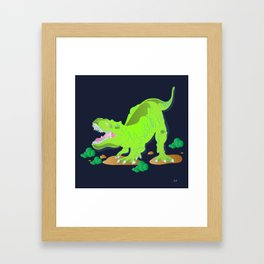 Dino - Bright Framed Art Print
