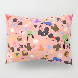 A day at the park (Disneyland) Pillow Sham