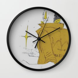 Borsalino Wall Clock