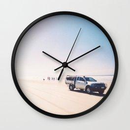 Fraser Island Wall Clock