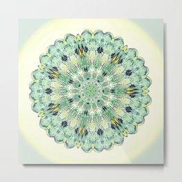 Damsel Wing Mandala i= Metal Print