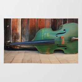 Double Bass Rug