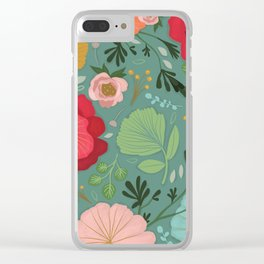 Boho chic Clear iPhone Case