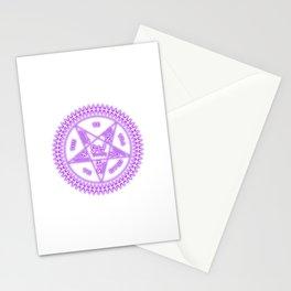 Sebastian Michaelis Sigil Light (white bg) Stationery Cards