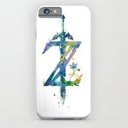 Breath of the Wild iPhone Case