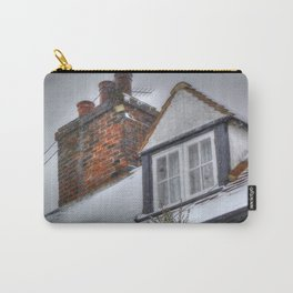 Winter Cottage Carry-All Pouch