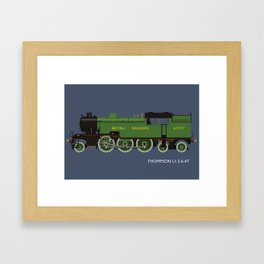Thompson L1 2-6-4T Framed Art Print