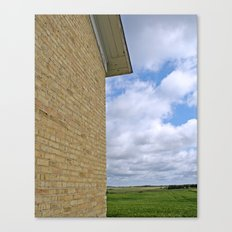School Wall Canvas Print