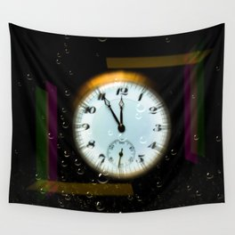 Time passes like soap bubbles Wall Tapestry