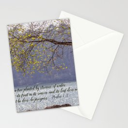 Psalm 1:3 Stationery Cards