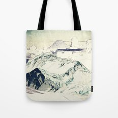 Flight Over Yatsugate Tote Bag