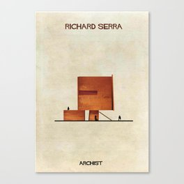 Richard Serra Canvas Print
