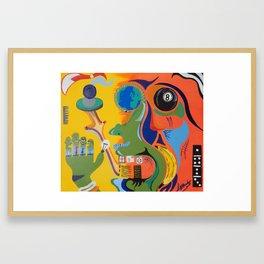 Jimbo Framed Art Print