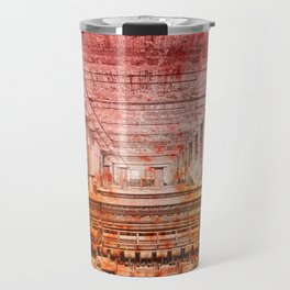 Abandoned Silk Mill - Pastel Grunge Travel Mug
