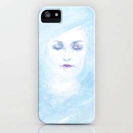 Hail to the winter iPhone Case