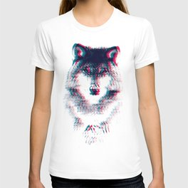 Act like a wolf. T-shirt