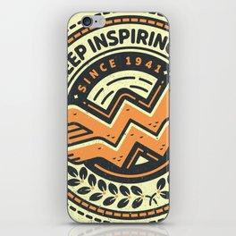 Inspiring Symbol iPhone Skin