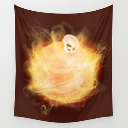 Lost in a Space / Sunlion Wall Tapestry
