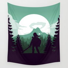 The Legend of Zelda - Green Version Wall Tapestry