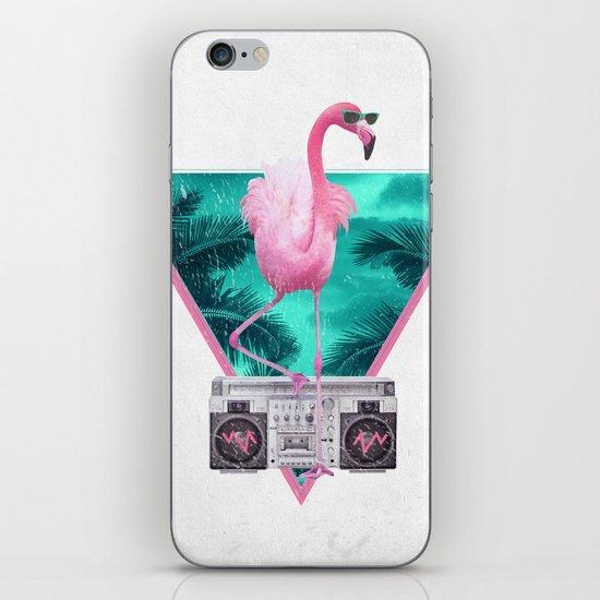 Miami Flamingo iPhone & iPod Skin