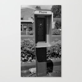 Where have all the pay phones gone? #4 Canvas Print