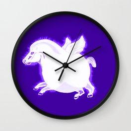 Fat Pegasus Wall Clock