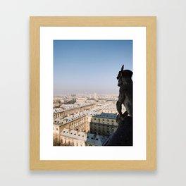 Gargoyle Right Framed Art Print