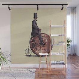 Penny Farthing Wall Mural