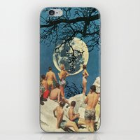 the moon iPhone & iPod Skins featuring Moon by Ben Giles