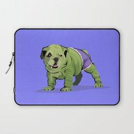 The Incredible Bulldog Laptop Sleeve