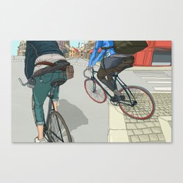 City traveller Canvas Print
