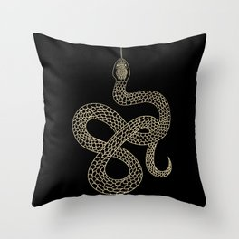Vintage line snake Deko-Kissen