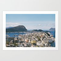 Alesund, Norway Art Print