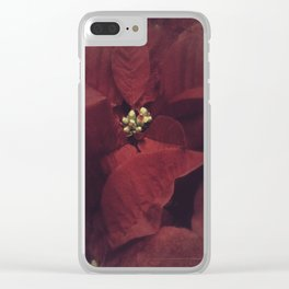 I'll Be Home For Christmas Clear iPhone Case